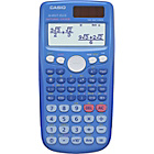 more details on Casio Dual Powered Scientific Calculator - Blue.