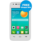 more details on Lebara Alcatel Pop D1 Mobile Phone - White.