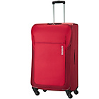 more details on American Tourister Spinner Large 4 Wheel Suitcase - Red.