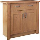 more details on Ohio 2 Door 2 Drawer Sideboard - Oak Effect.