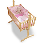 more details on Clair de Lune Lottie and Squeek 2 Piece Rocking Crib Set.