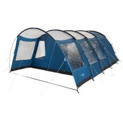 Trespass Go Further 6 Man 2 Room Tunnel Tent