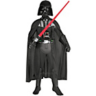 more details on Child's Deluxe Darth Vader Fancy Dress Costume - Small.