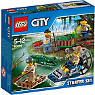 more details on LEGO® CITY Swamp Police Starter Set - 60066.