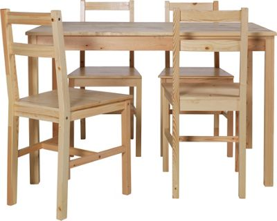 Buy HOME Raye Solid Wood Dining Table and 4 Chairs  : 3225837RSETTMBampwid620amphei620 from www.argos.co.uk size 620 x 620 jpeg 35kB
