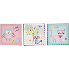 more details on Chad Valley Creature Friends Wall Art - Set of 3.