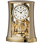 more details on Seiko Gold Coloured Rotating Pendulum Mantel Clock.
