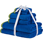 more details on Colour Match 6 Piece Towel Bale Set - Blue and Green.