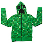 more details on Minecraft Creeper Boys' Green Hoodies - 9-10 Years.