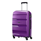 more details on American Tourister Bon Air Spinner Medium Suitcase - Purple.