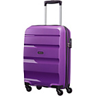 more details on American Tourister Bon Air Spinner Small Suitcase - Purple.