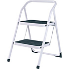 more details on Abru Highback Stepstool 2 Step - White.