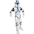more details on Child's Clone Trooper Fancy Dress Costume - Large.