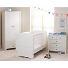 more details on Saplings Amber Nursery Furniture Set - White.