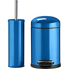 more details on ColourMatch Slow Closing Bin & Brush Set - Marina Blue.