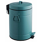 more details on Habitat Sesamee 5L Metal Bathroom Bin - Blue.