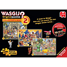 more details on Wasgij Collectors Edition 2, 3 Jigsaw Puzzles - 1000 Pce.