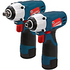 Silverstorm 10.8v Impact Wrench and Impact Driver Set