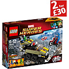 more details on LEGO® Super Heroes Captain America vs. Hydra - 76017