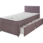 more details on Forty Winks Newington Essential Single 2 Drw Divan Bed.