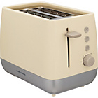 more details on Morphy Richards 221107 Chroma 2 Slice Toaster - Cream.