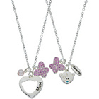 more details on Me to You Silver Plated Mum and Daughter Pendant set.