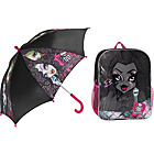 more details on Monster High Backpack and Umbrella - 3+ Years.