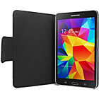 more details on Samsung Galaxy Tab 4 Leather Style Folio Case - Black.