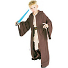 more details on Child's Deluxe Jedi Robe Fancy Dress Costume - Large.