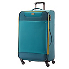 more details on American Tourister Spinner Large Expander Suitcase - Blue.