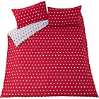 more details on Polka Dot Red Bedding Set - Double.