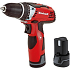more details on Einhell Li-Ion Cordless Drill 2x 12V Batteries.