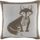 more details on Heart of House Vixen Knitted Cushion - White.