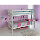 more details on Tristan Detachable Single Bunk Bed Frame - White.