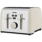 more details on Breville Colour Notes 4 Slice toaster - Vanilla Cream.