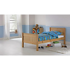 more details on Cody Pine Single Bed Frame with Ashley Mattress.