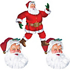 more details on Classic Santa Cutout Decorating Kit.