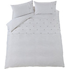 more details on Harley White Pintuck Bedding Set - Double.