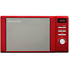 more details on Russell Hobbs Hertiage 2064R Standard Microwave - Red.