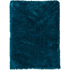 more details on Heart of House Bliss Deep Pile Shaggy Rug - 160x230cm - Teal