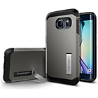 more details on Samsung Spigen Tough Armoror for Galaxy S6 Edge - Black.