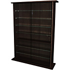 more details on Large Display Media Cabinet - Dark Oak.