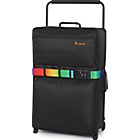 more details on IT Luggage World's Lightest Large 2 Wheel Suitcase - Black.