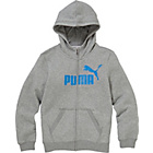 more details on Puma Essentials Boys' Grey Hooded Sweatshirt.