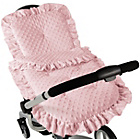 more details on Clair de Lune Dimple Continental Pram Set - Pink.