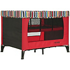 more details on Obaby Naptime Travel Cot - Red/Black.