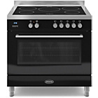 more details on Britannia RC-9SI-QL-S 90cm Dual Fuel Range Cooker - Black.
