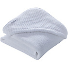 more details on Clair de Lune Honeycomb Hooded Towel - White.