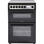 more details on Hotpoint HAE60G Double Electric Cooker - Black/Ins/Del/Rec.