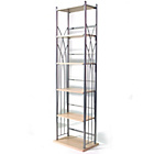 more details on Media Storage Tower Shelves - Silver.